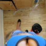 Roxy Ryder Cheerleader cam girl shows her tight panties